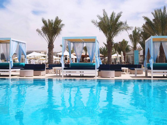 abu dhabi beaches yas beach pool