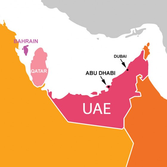 where is abu dhabi