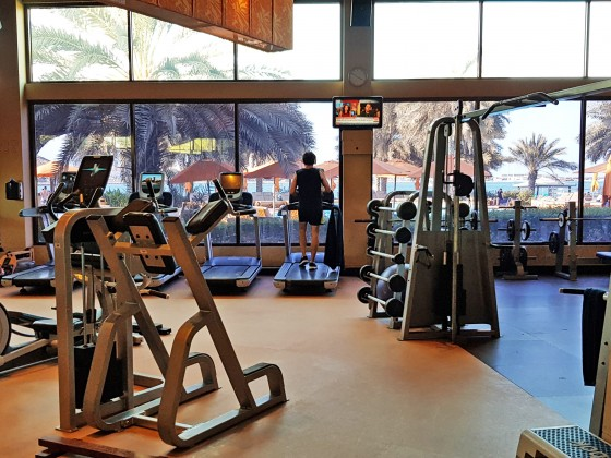abu dhabi beach clubs hiltonia gym