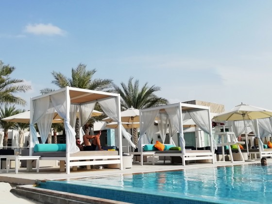 abu dhabi yas beach club
