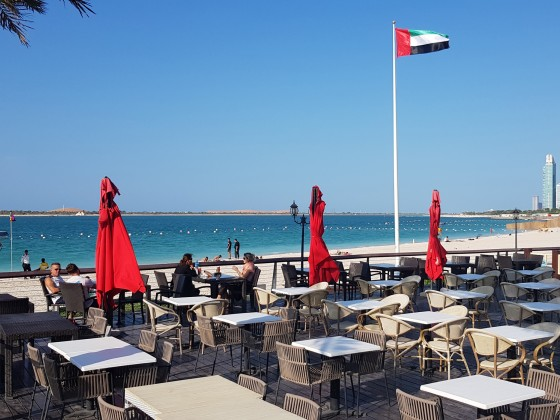 abu dhabi beaches corniche sahil coffee shops
