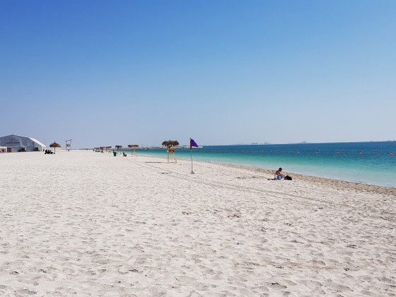 abu dhabi beaches hudayriat beach 1