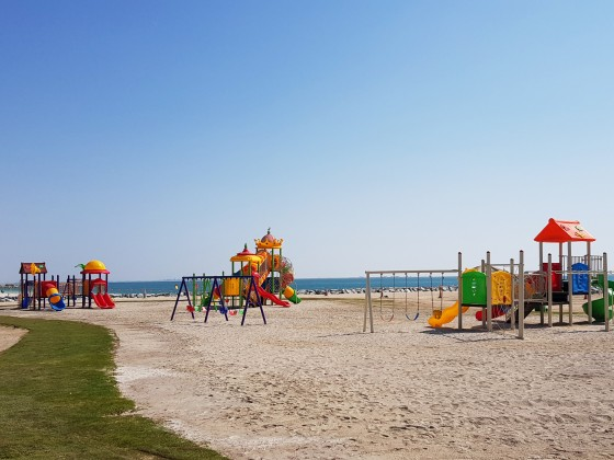 abu dhabi beaches hudayriat beach playground