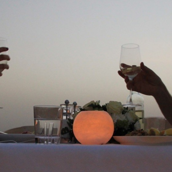 abu dhabi romantic dune dinner with champagne h