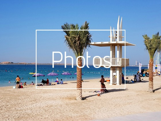 best beaches abu dhabi al sahil