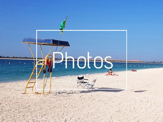 best beaches abu dhabi corniche
