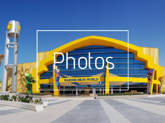 warner brothers world abu dhabi picture gallery