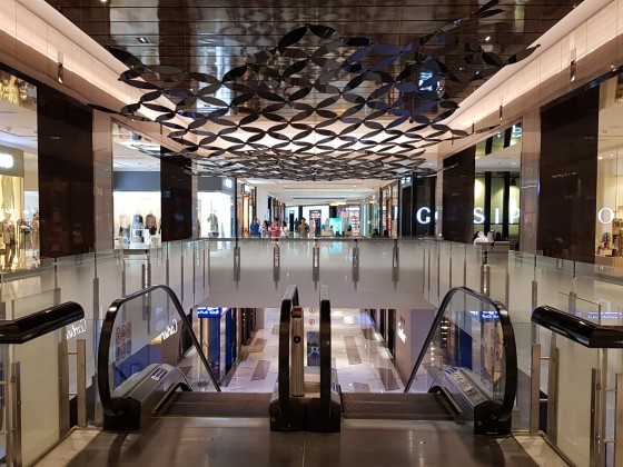 abu dhabi shopping mall the galleria b