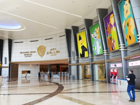 abu dhabi warner bros world