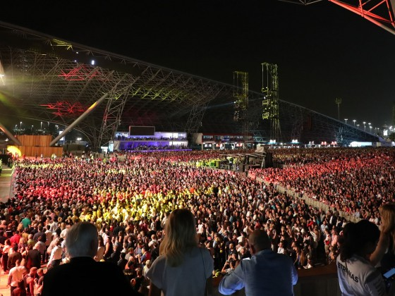 abu dhabi formula one after race concert