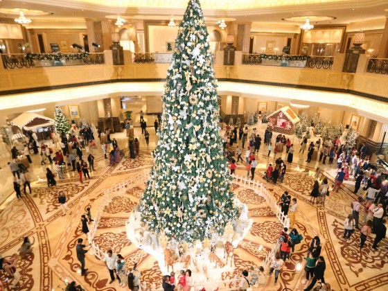 christmas emirates palace hotel