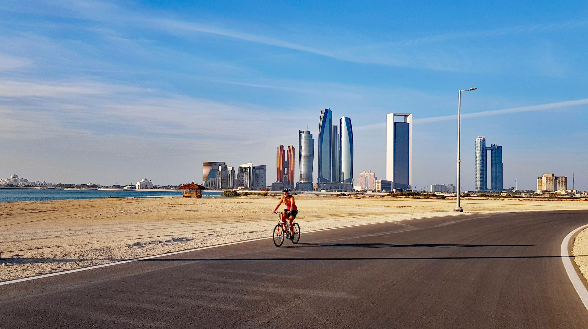 Cycling in Abu Dhabi - Find the best Cycle Tracks across Abu