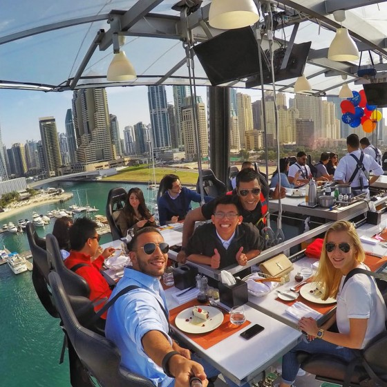 dubai things to do restaurant