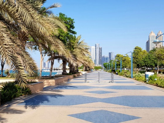 abu dhabi places to visit corniche